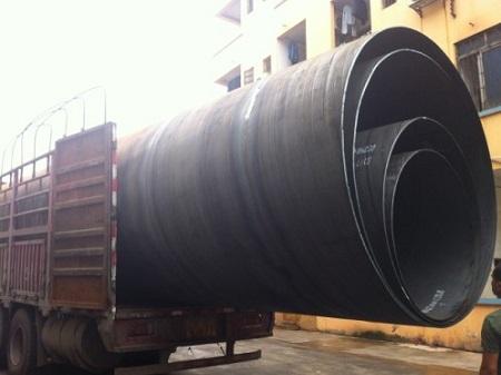 DN2400大口径抗洪排污钢管--广西南宁沧海钢管厂制造厂家直销包运