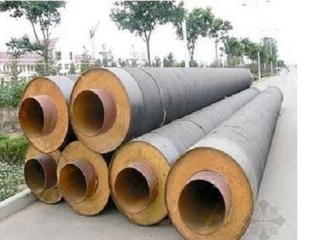 3PE聚氨酯保温复合钢管--高密度防腐管