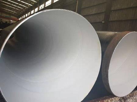 水利专用螺旋管,厂家当场试压钢管